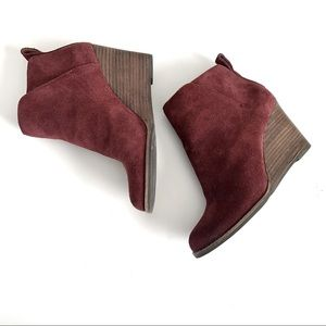 Lucky Brand Yezzah Leather Booties